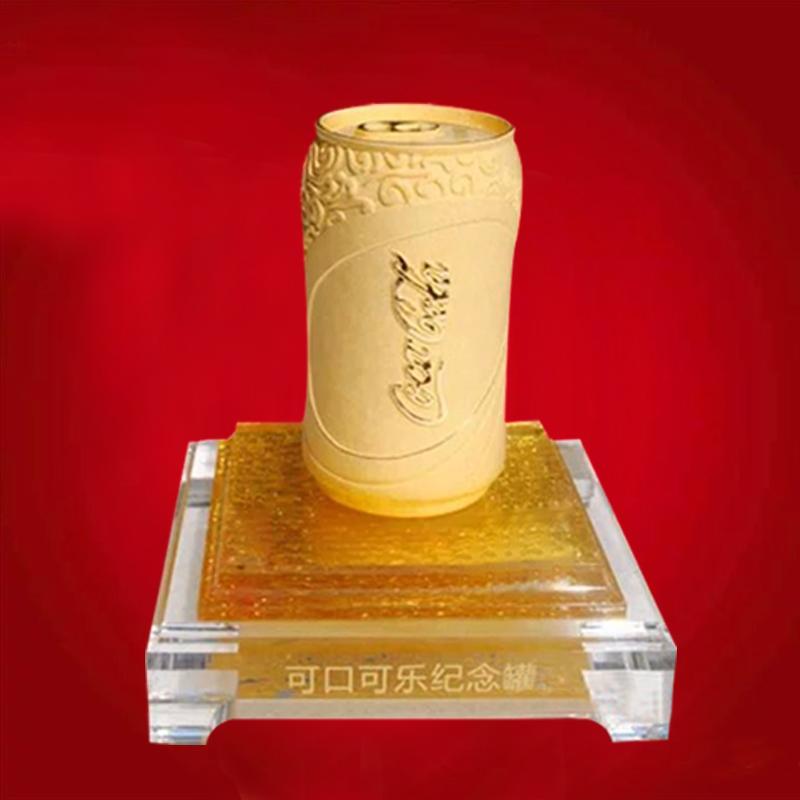 可口可乐纪念罐摆件设计定制